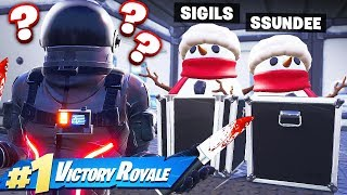 MURDER MYSTERY *Sneaky* SNOWMAN Game Mode In Fortnite Battle Royale