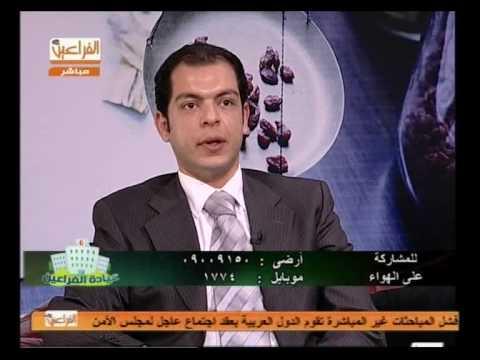 يمني طولان مع الدكتور حاتم نعمان أخصائي التخسيس