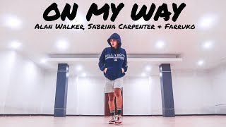 Alan Walker, Sabrina Carpenter & Farruko - On My Way | ZUMBA FITNESS DANCE | FITDANCE (PUBG Edition)