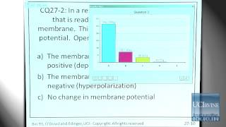 Bio Sci 93: DNA To Organisms. Lec. 27: Neuronal Physiology And Membrane Potential