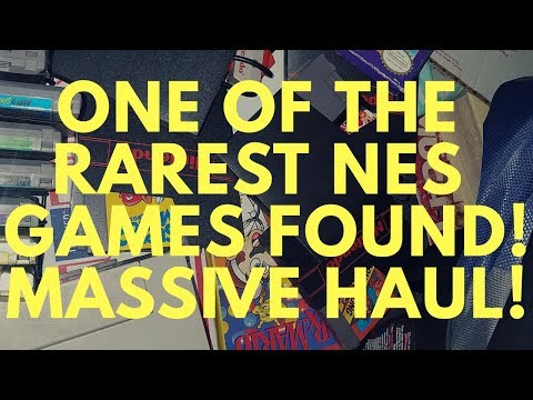 Video game hunting: top 10 NES game found!!!