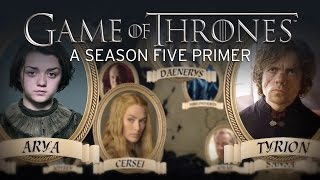 Game of Thrones Season 5 starts this Sunday! Catch up with this animated map that explains what happened in Season 4 and...