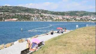 Portoroz Slovenia  City new picture : Camp site Lucija - Portoroz - Slovenia