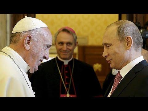Βατικανό: Με τον Πάπα Φραγκίσκο συναντήθηκε ο Πούτιν