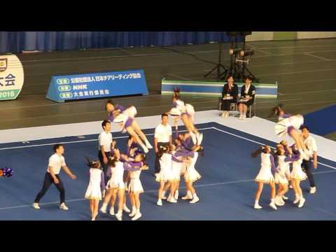 優勝 梅花中学校 Jr.RAIDERS 中学決勝 JAPAN CUP2016