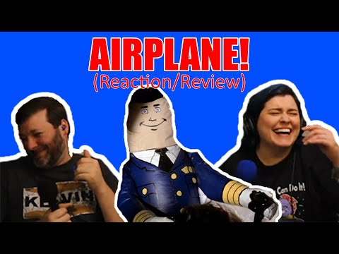 Airplane (1980) 🤯📼First Time Film Club📼🤯 - First Time Watching/Movie Reaction **EDITED VERSION**