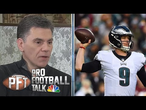 Video: Eagles may push Saints with unlikely upset lead by Nick Foles | Pro Football Talk | NBC Sports
