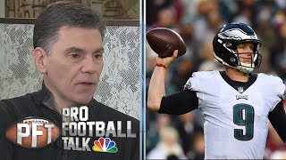Eagles may push Saints with unlikely upset lead by Nick Foles | Pro Football Talk | NBC Sports