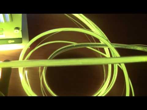 światłowody PMMA świecące bocznie e-technologia