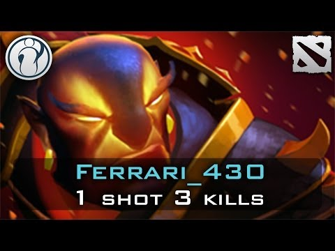 Dota 2 - Ferrari_430 1 Shot 3 Kills