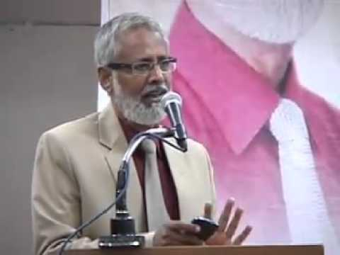 Dr. Prof. Shakil Auj's small speech 8 days before martyred on 18th September 2014