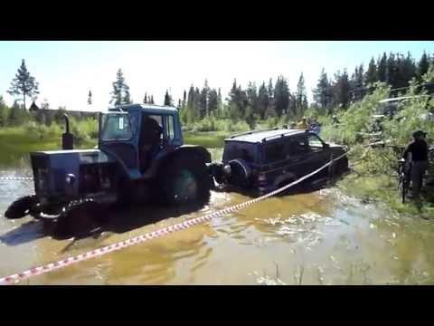 Поможет только трактор!