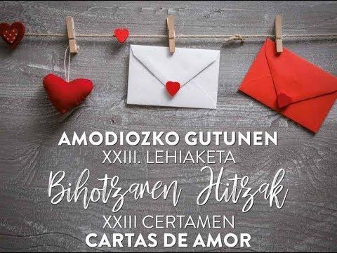 23 Certámen Cartas de amor