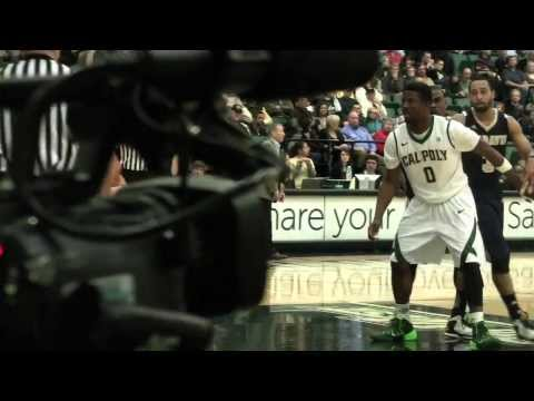 Cal Poly Men's Basketball Highlights versus UC Davis (Jan. 30, 2014)