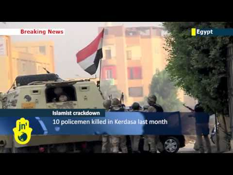 Egyptian forces retake pro-Morsi town south of Cairo as anti-Islamist crackdown continues
