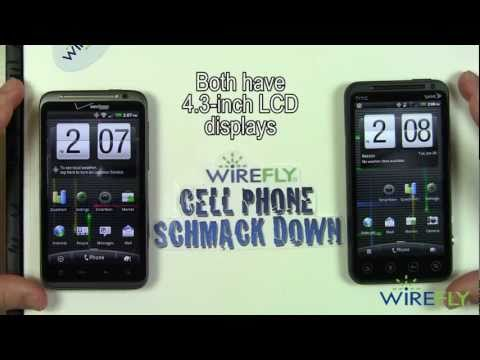 HTC EVO 3D vs. HTC ThunderBolt Schmackdown!