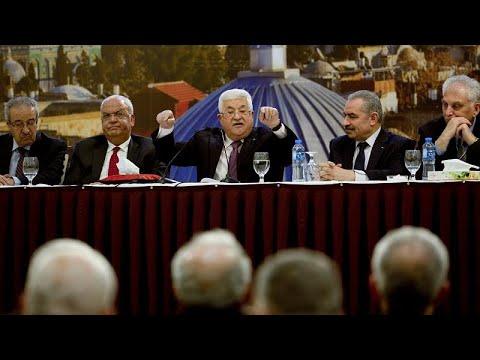 """Abbas annonce rompre """"tout lien"""" avec Israël et les États-Unis"""