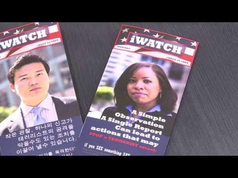 테러 사전 예방 'iWatchLA' 공개 9.8.16 KBS America News