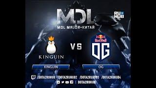 Kinguin vs OG, MDL EU, game 1 [Eiritel, 4ce]