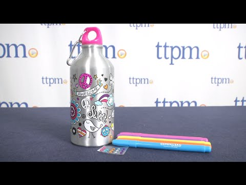 Doodle Deco Water Bottle from Horizon Group USA