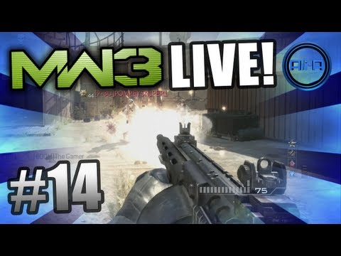 modern warfare 3 multiplayer - Thank you for 4444 Likes - Episode 15 will be up soon! :) • MW3 LIVE - Ep.13 - Sniping episode: http://tinyurl.com/8fe4m24 • Check out MoH:Warfighter gamepl...