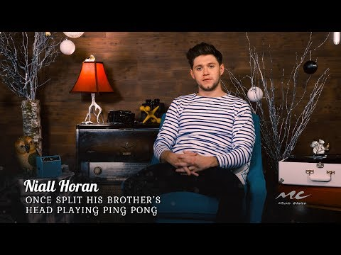 Niall Horan Accidentally Hit Brother with Ping Pong Paddle