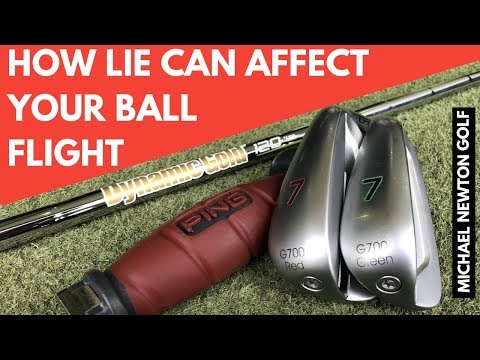 How Much Does Lie Angle Affect Ball Flight? Golf Equipment Testing