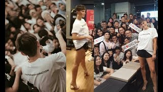 Fans & AGNEZ MO dancing & singing to her own songs 😂