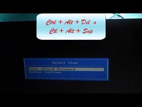 ELIMINAR CLAVE DE BIOS EN LA ACER 5532 // BIOS UNLOCK PASSWORD