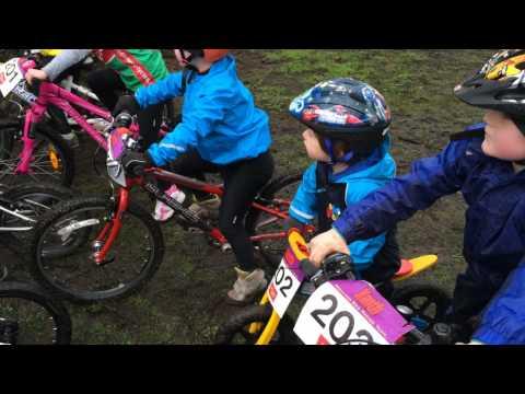 Bradley First MTB race