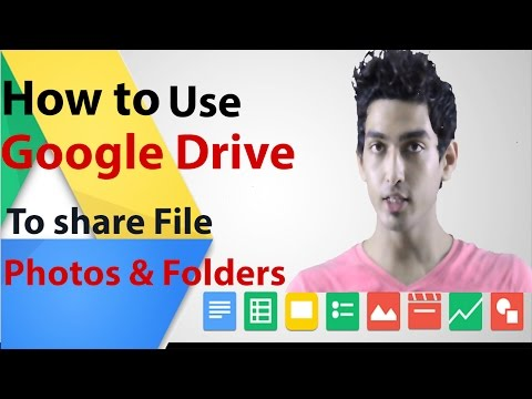 Video How to use Google drive to share files, photos and folders download in MP3, 3GP, MP4, WEBM, AVI, FLV January 2017
