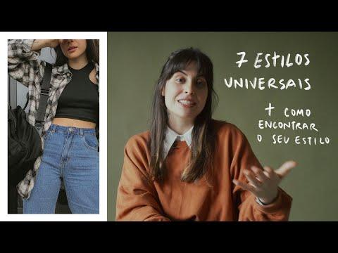 os 7 ESTILOS UNIVERSAIS + como ENCONTRAR o seu ESTILO | Thays Lessa