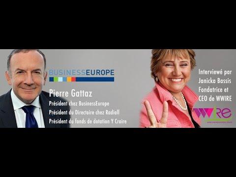 Interview de Pierre Gattaz Président chez BusinessEurope/ Président du Directoire chez Radiall