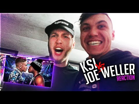 CLOUT HOUSE REACTS TO KSI VS JOE WELLER BOXING MATCH FIGHT (LIVE) (видео)