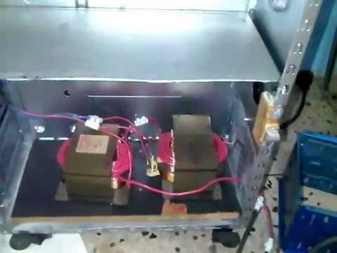 maquina de soldar casera - Amigos y amigas de Youtube aquí les dejo una pequeña muestra de como hacer un soldador de arco casero con el cual podemos soldar hierro, acero y materiales f...