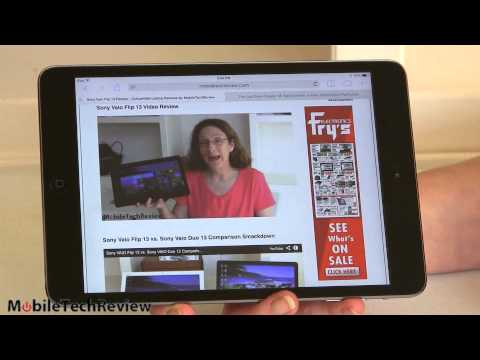 ipad - Lisa Gade reviews the iPad mini with Retina display. The new smaller iPad boasts the same 2048 x 1536 resolution as the iPad Air, but packed into a 7.9