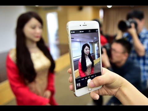 中國大學團隊公開「完全和人類長得一模一樣」的女機器人,當她開口說話時大家真的嚇到了…
