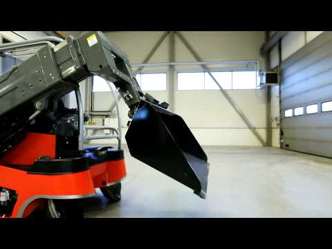 Awesome new concept of a forklift