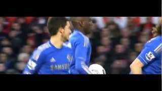 Eden Hazard gegen Manchester United