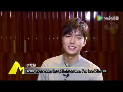 """Lee Min Ho """"Bounty Hunters"""" Interview 160517 [English subs]"""