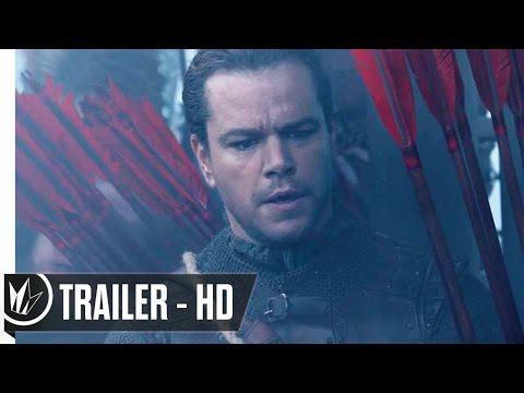 The Great Wall Official Trailer #1 (2017) Matt Damon, Willem Dafoe -- Regal Cinemas [HD]