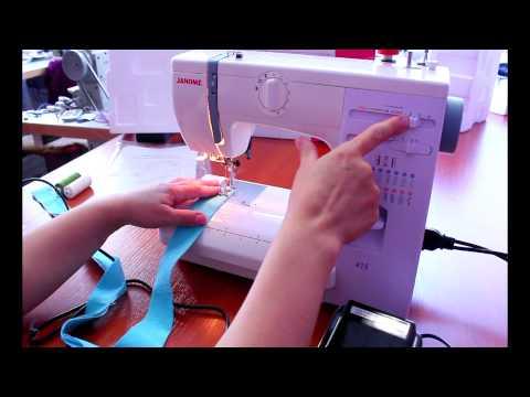 Видео шитье на швейной машине