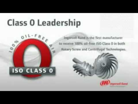 Class 0 Oil-Free Air Compressors From Ingersoll Rand