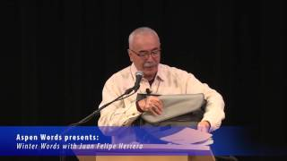 Juan Felipe Herrera at Winter Words 2016