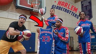 Video TRYING OUT FOR THE HARLEM GLOBETROTTERS! MP3, 3GP, MP4, WEBM, AVI, FLV Mei 2019