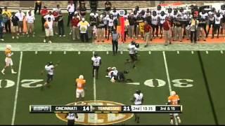Tyler Bray vs Cincinnati (2011)