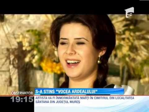 Cantareata de muzica populara <b>Ramona Fabian</b> a murit in urma unui accident ... - 0