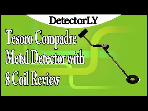 Tesoro Compadre Metal Detector with 8 Coil Review