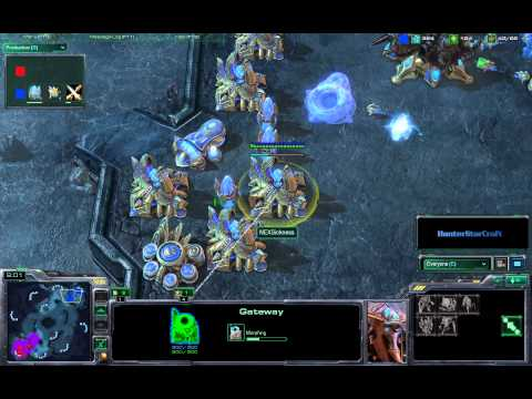 HunterStarcraft - Truly one of the most exciting and suspenseful replays I've casted. Two Korean pro gamers go at it on the ladder. NEXSickness P2 vs Next.Level Z8 Map: Xel Na...