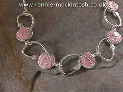 Rennie Mackintosh jewelry – Necklet DWO461